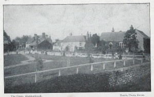 Shepherdswell Green from the church